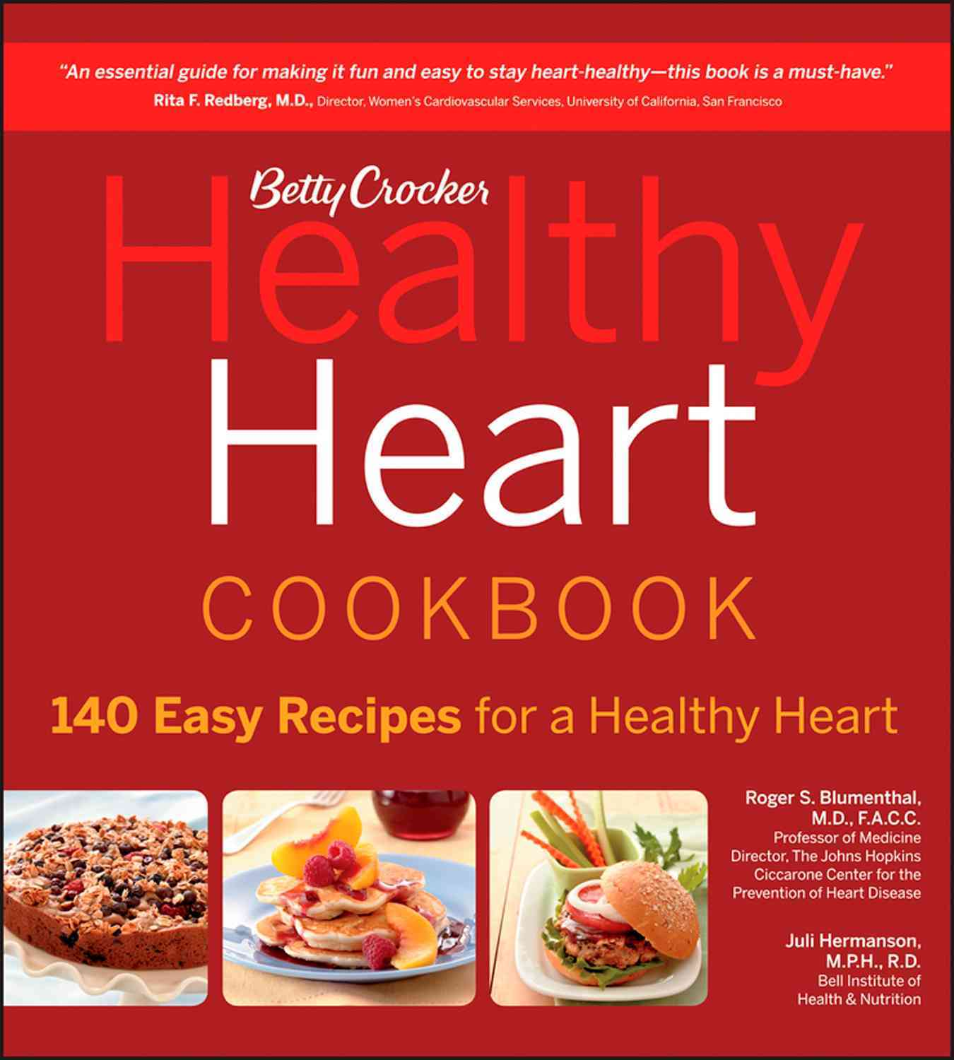 Betty Crocker Healthy Heart Cookbook By Crocker, Betty (COR)